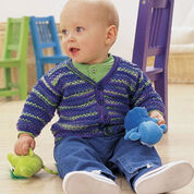 Go to Product: Patons Textured Cardigan, 6 mos in color