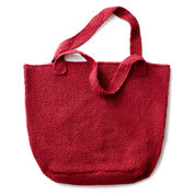 Lily Sugar'n Cream Getting Things Done Knit Tote