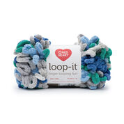 Go to Product: Red Heart Loop-It Yarn (100 g/3.5 oz) in color Blue Green With Envy