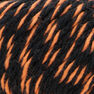Peaches & Creme Twists Yarn, Black with Orange - Clearance Shades*