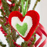 Red Heart Holiday Heart Ornaments in color  Thumbnail Main Image 6}