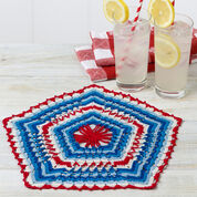 Go to Product: Aunt Lydia's Patriotic Pentagon Doily in color