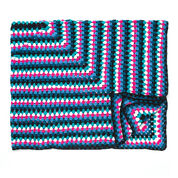 Go to Product: Caron Granny Goes Bright Crochet Blanket in color