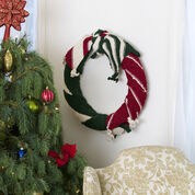 Go to Product: Red Heart Be-Scarfed Wreath in color