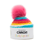 Go to Product: Caron Chunky Cupcakes Yarn, Jelly Bean in color Jelly Bean