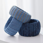 Go to Product: Coats & Clark Denim Bracelet Trio in color