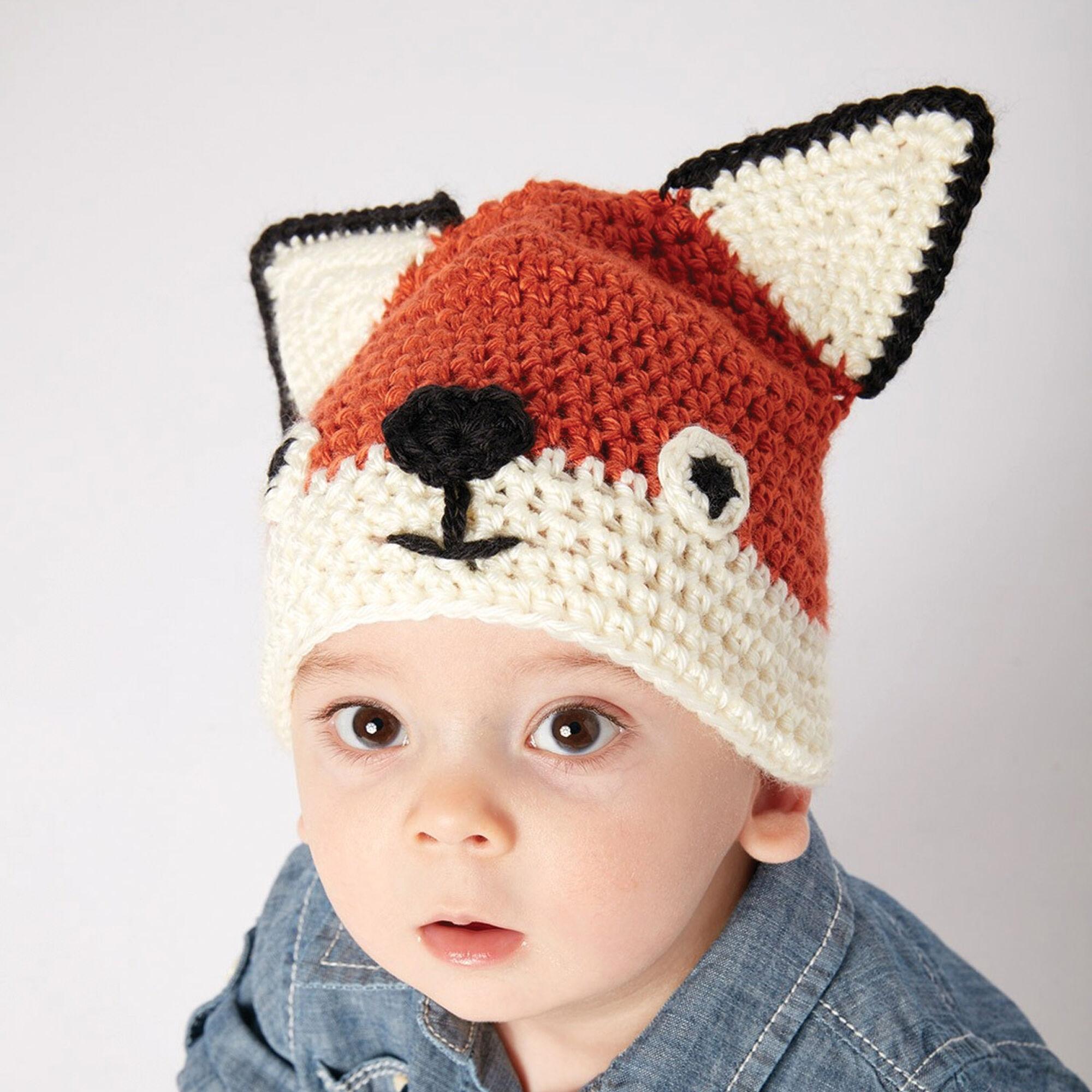 Crochet Fox Hat Pattern Free Interesting Design