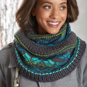 Go to Product: Red Heart Fair Isle Stranded Cowl in color