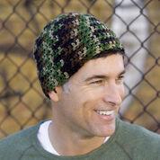 Red Heart Crochet Head-Hugger Cap