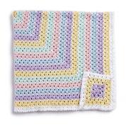 Caron Baby Blanket Squared