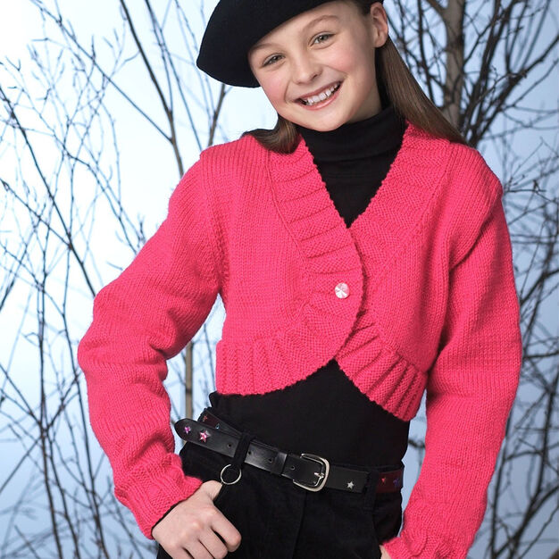 Patons Knit Bolero, 2 years in color