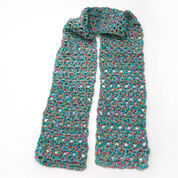 Red Heart Confetti Super Scarf