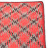Red Heart Planned Pooling Argyle Throw or Blanket, Blanket Size in color