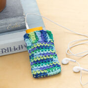 Red Heart iPod Cozy