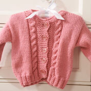 Red Heart Princess Cardigan, 6 mos