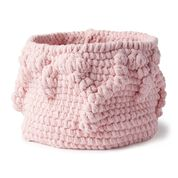 Go to Product: Bernat Crochet Bobble Border Basket in color