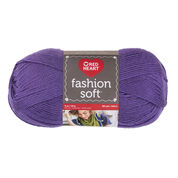 Go to Product: Red Heart Fashion Soft Yarn, Lavender in color Lavender