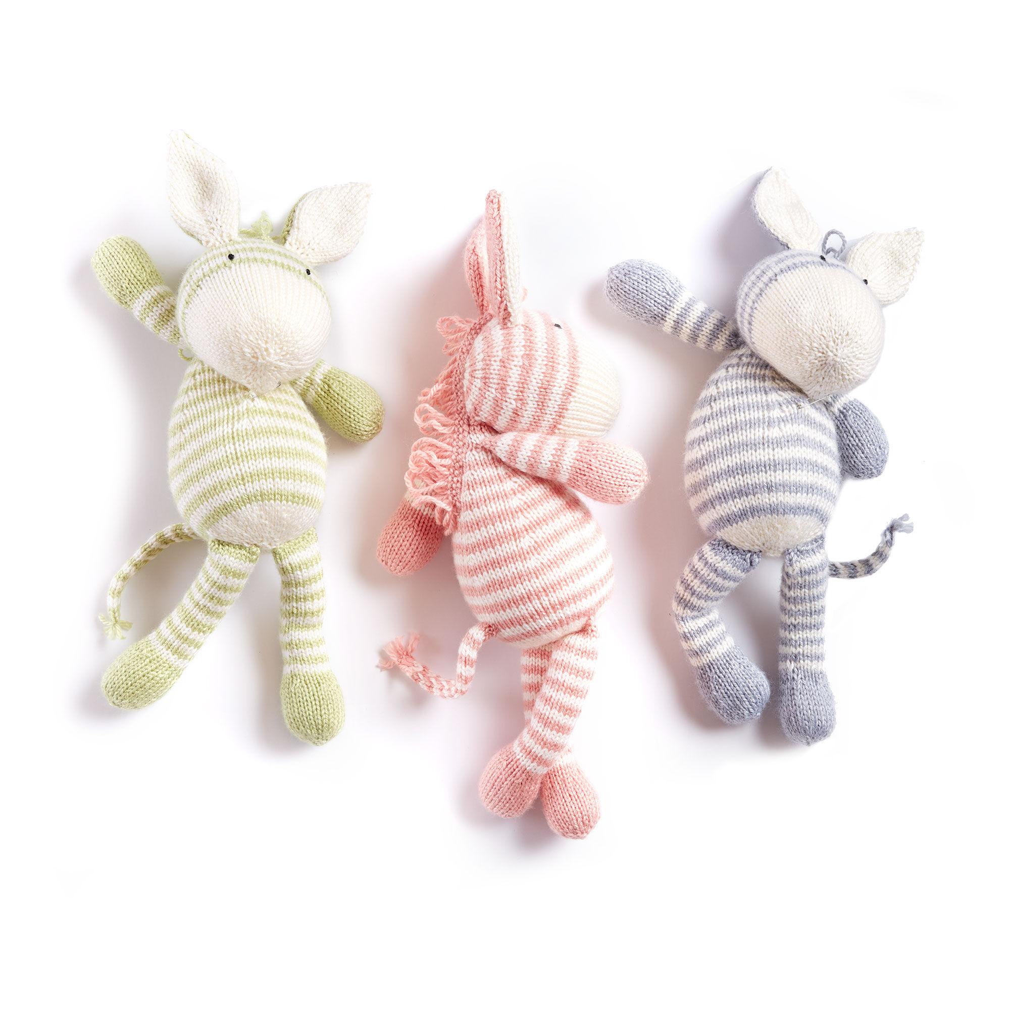 Bernat Knit Zebra, Soft Fern | Yarnspirations