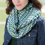 Red Heart Double Wrap Team Cowl