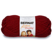 Go to Product: Bernat Softee Chunky Yarn (100g/3.5oz) in color Wine