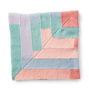 Go to Product: Caron Around the Corner Knit Blanket in color