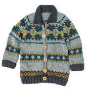 Patons Cowichan Style Raglan Cardigan, XS/S