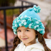Red Heart Knitted Hat, S