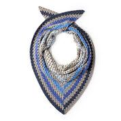 Caron x Pantone Staggered Stripes Crochet Shawl