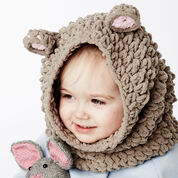 Bernat Mousie Snood, 12-18 months