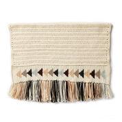 Patons Flying Geese Crochet Blanket
