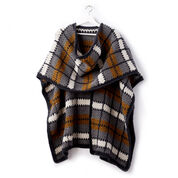 Patons Crochet Blanket Ruana