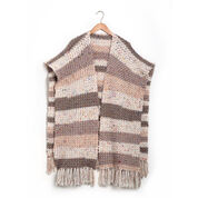 Go to Product: Caron Crochet Ruana, XS/S/M in color