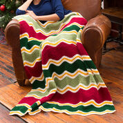 Go to Product: Red Heart Holiday Chevron Throw in color