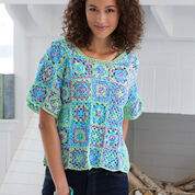 Aunt Lydia's Crafty Crochet Top, S