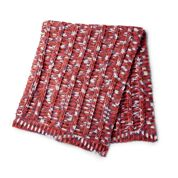 Go to Product: Caron Crochet Ridges Blanket in color