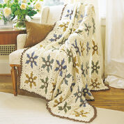 Go to Product: Patons Elegant Floral Afghan in color