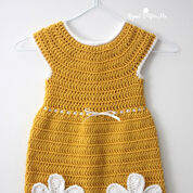 Caron Crochet Daisy Dress
