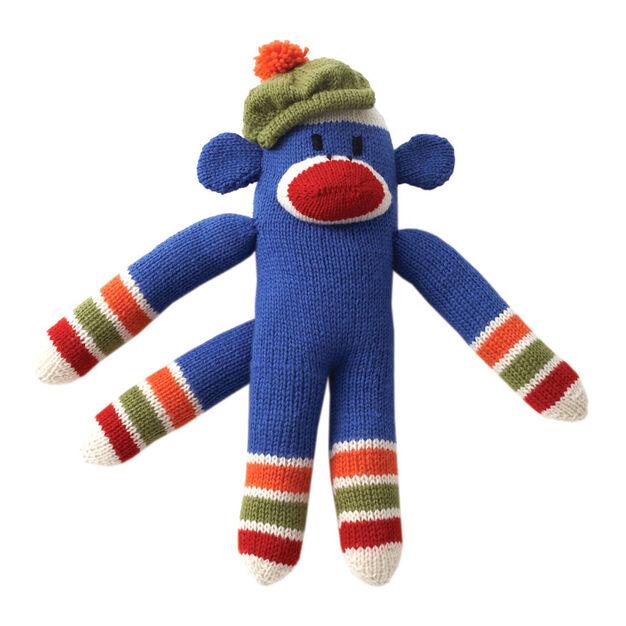 Patons Knit Striped Funky Monkey