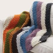 Bernat Seed Stitch Blanket