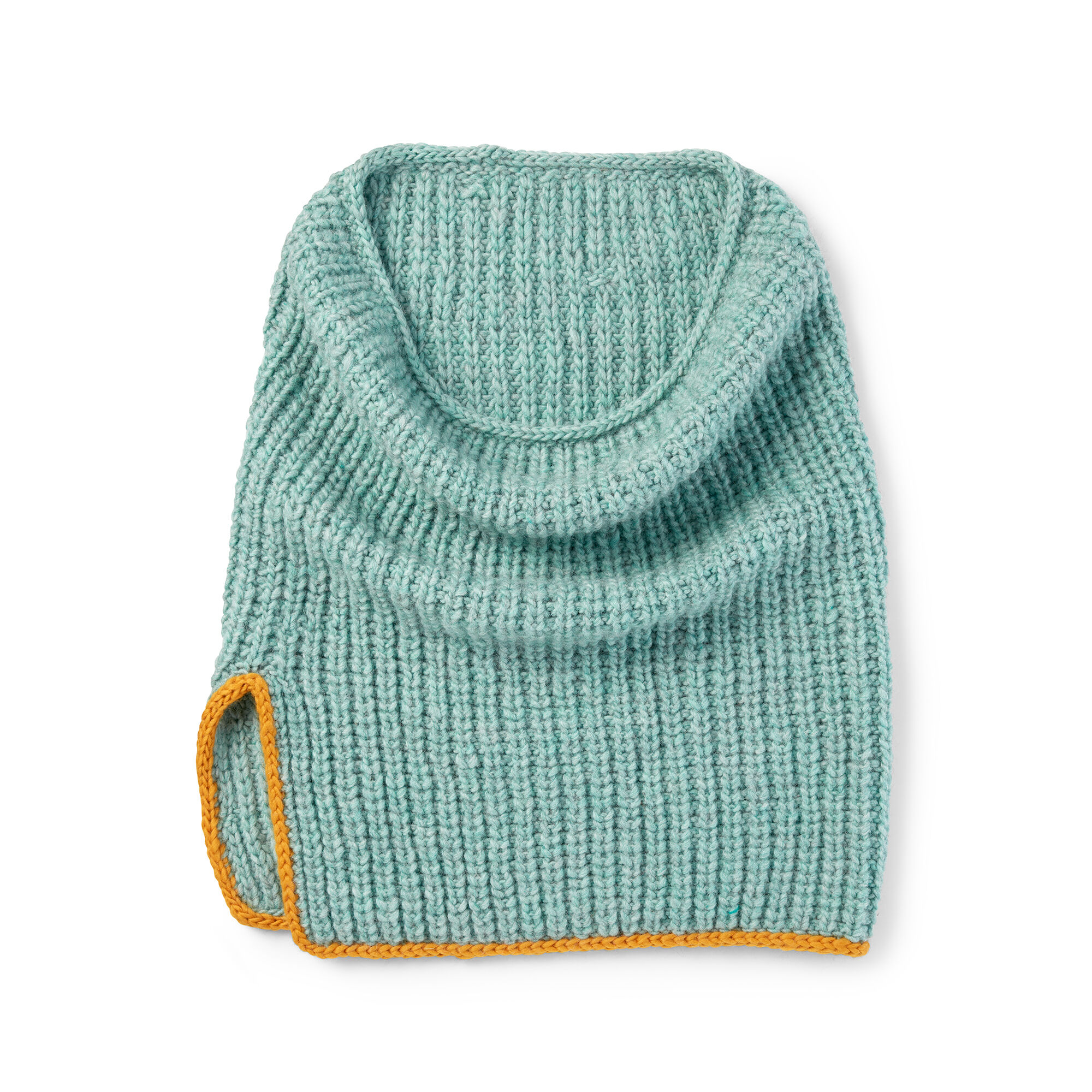 Patons Split Rib Knit Cowl Pattern | Yarnspirations