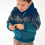 Patons Nordic Hooded Jacket, 4 yrs