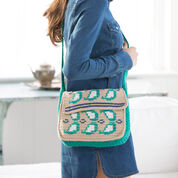 Red Heart Embellished Paisley Purse