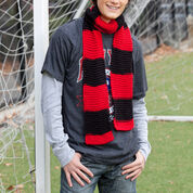 Red Heart Hooray Team Scarf
