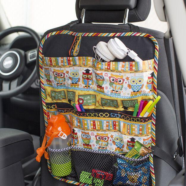 Dual Duty Car Seat Organizer in color