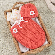 Go to Product: Red Heart Just Peachie Cocoon Set, 0/3 mos in color