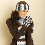 Go to Product: Bernat Hat, Scarf and Mittens, Hat in color