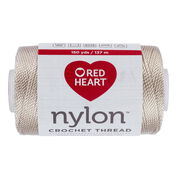 Red Heart Nylon Crochet Thread Size 18, Natural