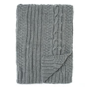 Bernat Horseshoe Cable Blanket