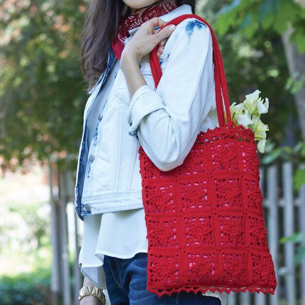 Bernat Vintage Lace Bag