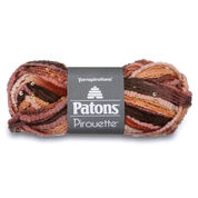 Patons Pirouette Sparkle Yarn, Sienna - Clearance Shades*